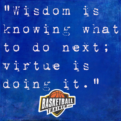 Basketball Trainer Wisdom