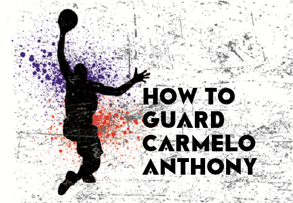 Train to Guard Carmelo Anthony