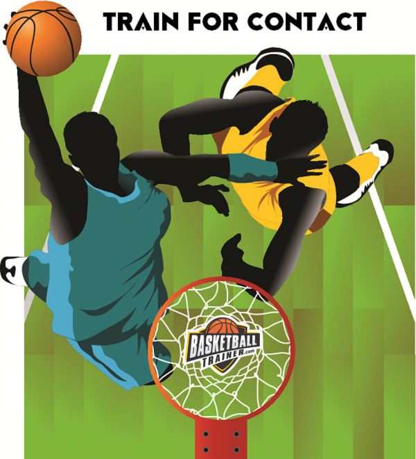 Train for basketball contact