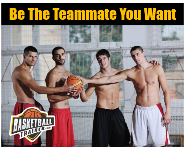 How To Be a Better Basketball Teammate
