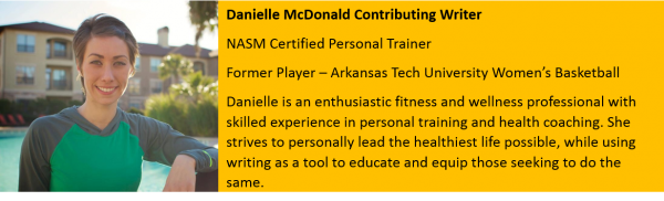 Basketball Trainer Writer Danielle McDonald