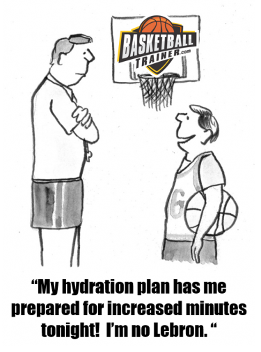 Keys To Basketball Hydration